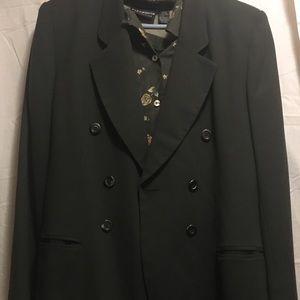 Woman's 3 piece dress and blazer suit.